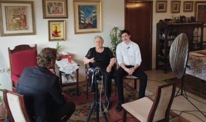 Stiftung Denkmal: Holocaust-Überlebende, Interviews