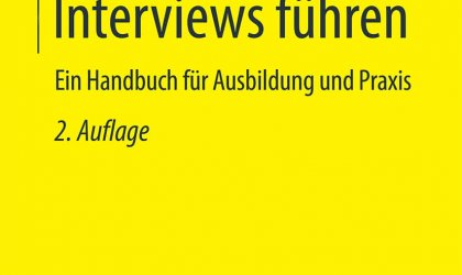 Journalistische Interviews führen: Emotionale Kommunikation in Interviews