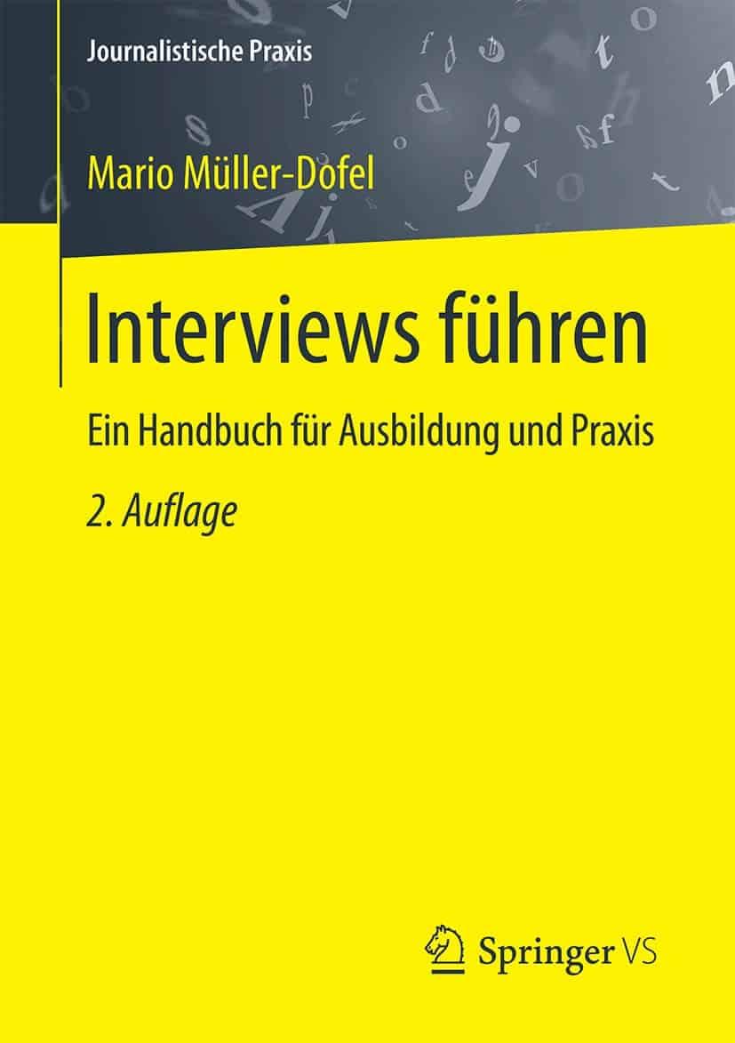 Journalistische Ausbildung - Interviews führen