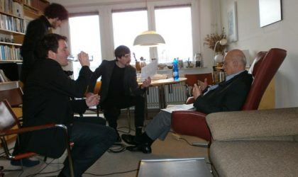 Conducting Interviews with Holocaust Survivors (Stiftung Denkmal)