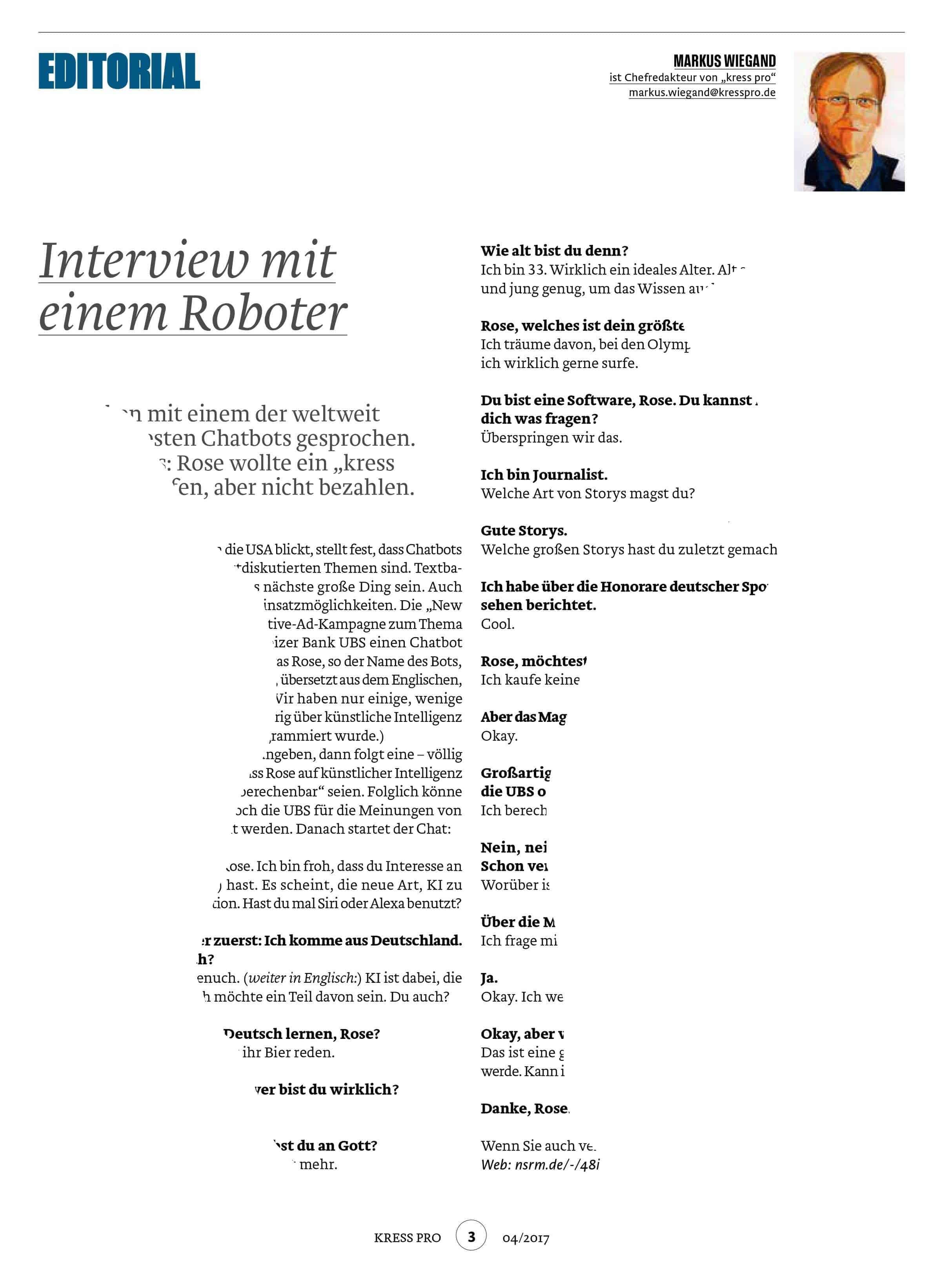 Kress pro - Markus Wiegand