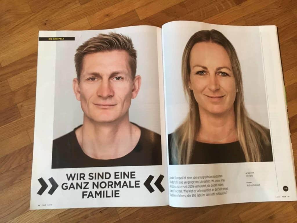 Sportler-Interview - André Greipel Kristina Greipel