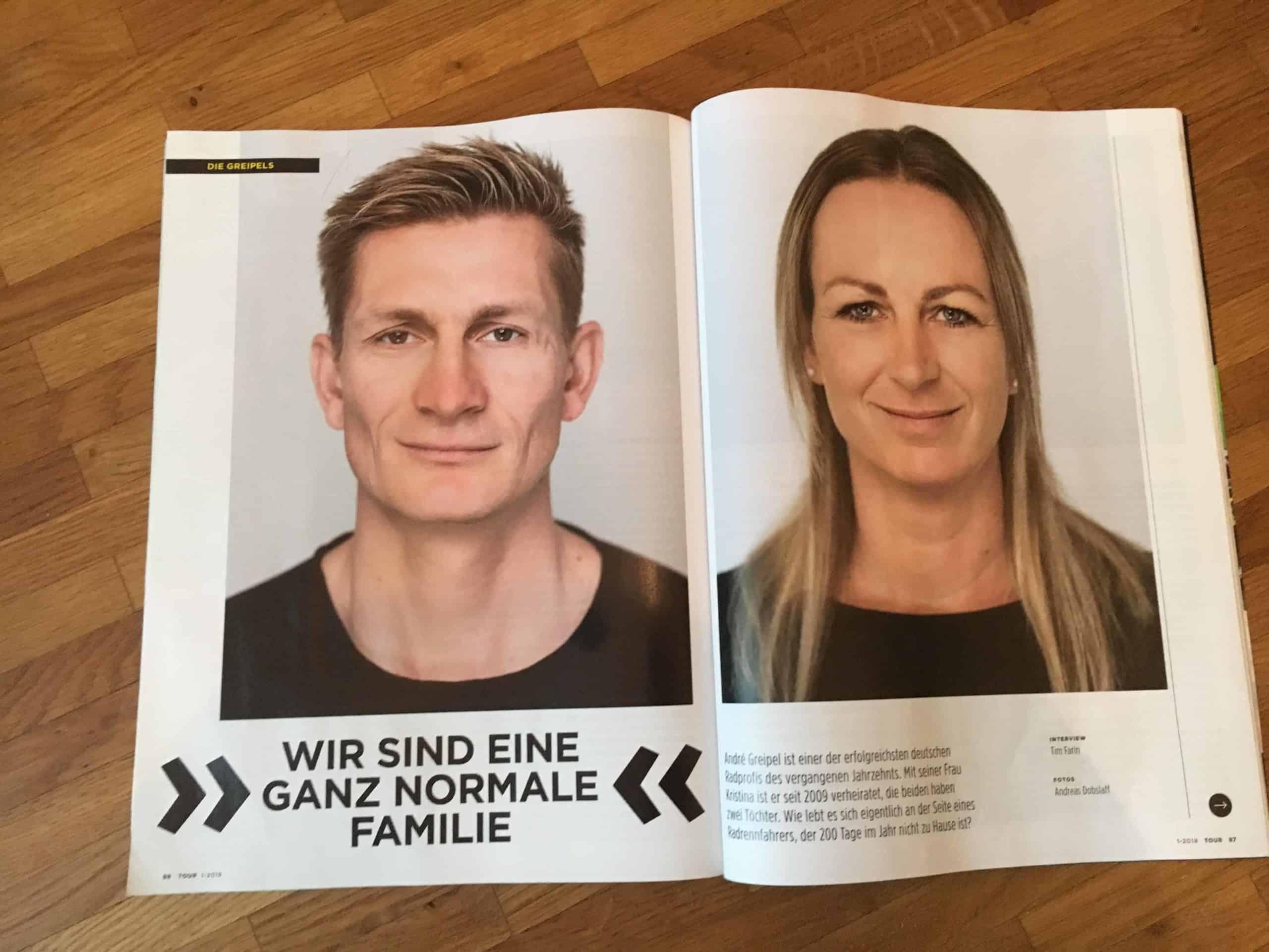 Sportler-Interview Andre Greipel Kristina Greipel