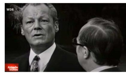 Einsilbige Interviewantworten: Willy Brandt vs. Nowottny (Tagesschau)