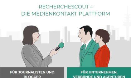 Gute Interviewpartner finden? Recherchescout hilft. Podcast!